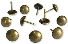 500pcs a lot: D11mmxL17mm Brass(Old Gold) Plated