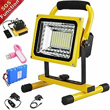 500W 5000LM Rechargeable Work Lights, LED Portable
