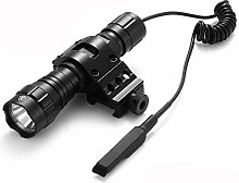 501B LED Tactical Torch Flashlight, WindFire 2500