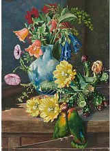 504. Group of Flowers, Painted in Teneriffe by