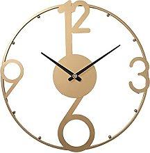 50CM Metal Wall Clock Arabic Wall Clock, Silent