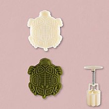 50g Mooncake Mould with Turtle Stamp Bakeware
