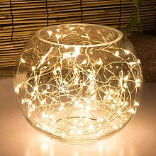 50LED Fairy Light Battery Operated LED Lights with