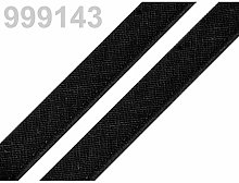 50m 999143 Black Cotton Insertion Piping Width
