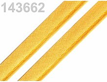 50m Amber Cotton Insertion Piping Width 12mm, Bias