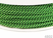50m Bright Limegreen Twisted Cord Ø2, Cord