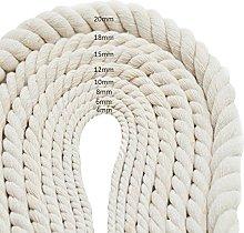 50m Handmade Cotton Cord Rope,4mm Diameter Home