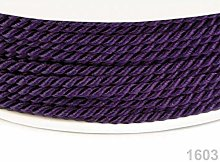 50m Imperial Purple Twisted Cord Ø2, Cord