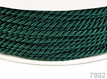 50m Piquant Green Twisted Cord Ø2, Rope Twist,