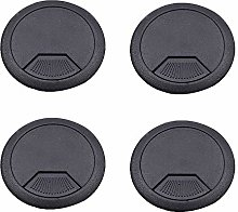 50mm Desk Grommet Plastic Round Wire Hole Cover