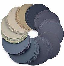 50pcs 6 Inch Sanding Discs 150mm Waterproof