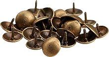 50Pcs Iron Antique Bronze Upholstery Nail Jewelry