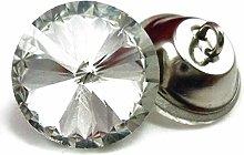 50PCS/LOT Sofa Crystal Button Clear Color