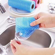 50Pcs/Roll Disposable Dish Cloth Housework Dish