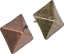 50Pcs Square Nails Conical Tacks Upholstery