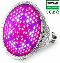 50W Grow Light Bulb Full Spectrum, Plant Lights