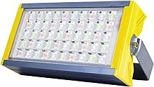 50W LED Floodlight Outdoor, RGB Colors Changing