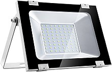 50W LED Floodlight, Outdoor Security Light, 4000LM