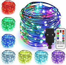 51 Modes 7 Colors + Multicolor New LED String
