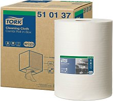 510137 Cleaning Cloth White (Single) - Tork