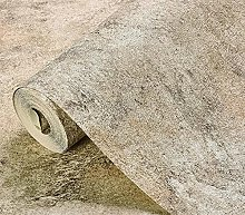 53*950CM Cement Grey Wallpaper, Modern Minimalist,