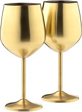 530ml Stainless Steel White Wine Glass Cooks