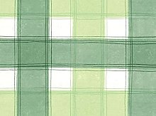 "55"" (1.4M) ROUND PVC/VINYL TABLECLOTH - GREEN"