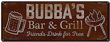 5562 Bubba's Bar and Grill Friends Drink for