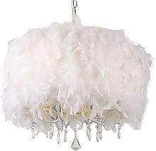 55CM Chandelier Lampshade Modern Fashion Feather