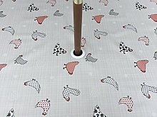 55X55 SQUARE PVC/VINYL GARDEN TABLECLOTH -