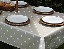 "55x98"" RECTANGLE PVC/VINYL TABLECLOTH -"