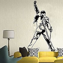 57x91cm Vinyl Decal Metal Rock Music Character