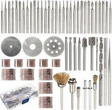 58 pcs Rotary Tool Accessories Set Dremel Grinding