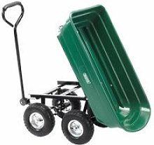 58553 Gardeners Cart with Tipping Feature - Draper