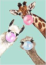 5D Diamond Painting Kits Full Drill, Animal Series