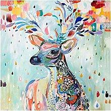 5D Diamond Painting Kits Full Drill, Color Deer