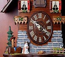 5D Diamond Painting Numbering Kit Cuckoo Clock