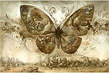 5D DIY Diamond Painting Kits Butterfly Full Round