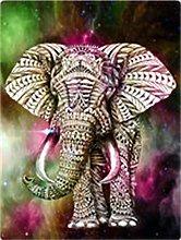 5D DIY Diamond Painting Kits Elephant Full Round