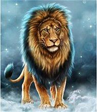 5D DIY Diamond Painting Kits Lion Full Round Drill