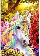 5D DIY Diamond Painting Kits Unicorn Full Round