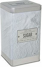5five Larder Collection Embossed Sugar Canister