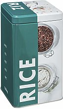 5five Pantry Collection Embossed Rice Canister