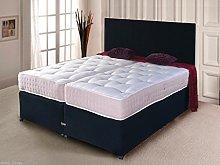 5ft & 6ft Luxury Zip & Link Divan Bed Set Pocket