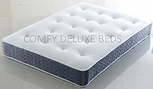 5FT Memory Form Mattress with Quilted Tufted