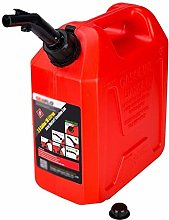 5L/10L Fuel Tank Gas Canister Jerrycan Red Yellow