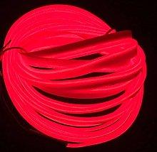 5M/16FT EL Wire, Neon Light DIY Decoration Glowing