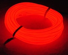 5m EL Wire Neon Light Battery Powered Wire Pack