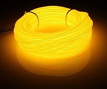 5m EL Wire Tube Rope Battery Powered Flexible Neon