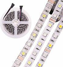 5m LED RGBW Light Strip Warm White+RGB 12V (Zigbee